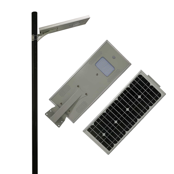 15W integrated solar LED street light RoHS CE certificate approved