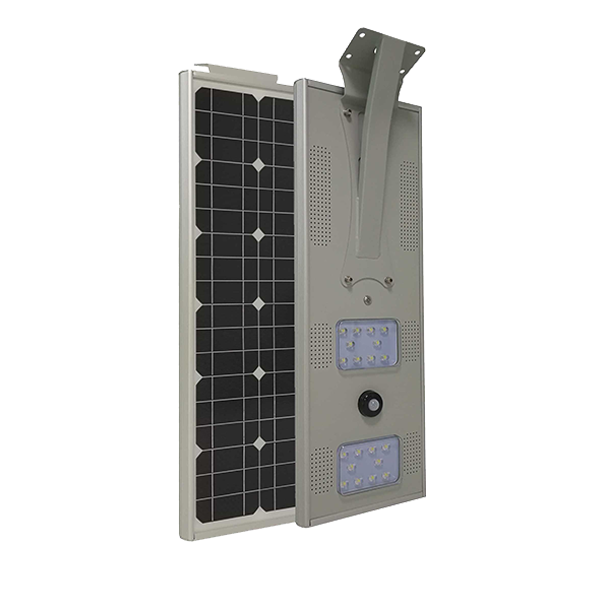 integrated led solar street light