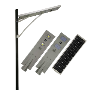 30w Waterproof IP65 smart all in one solar light untuk jalan raya dan jalan raya