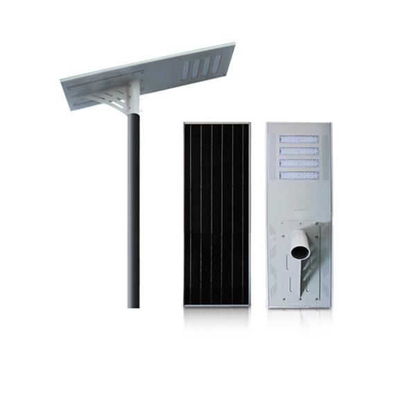 80w yüksek kaliteli ip66 entegre led güneş sokak lambası Çin tedarikçisi