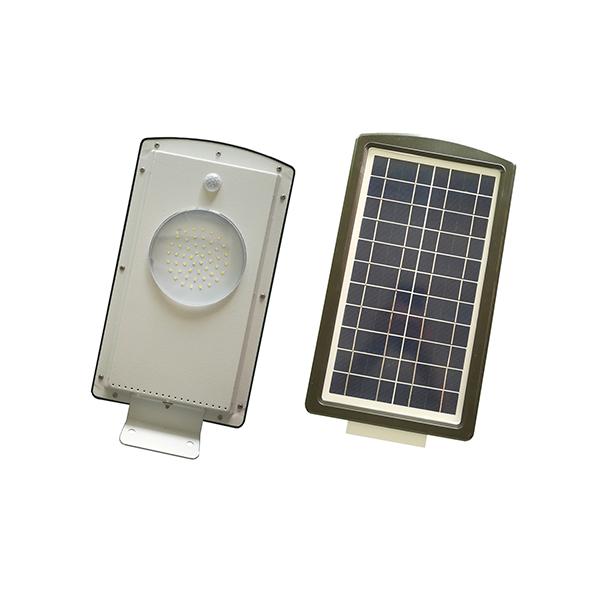 8W easy installation all in one solar power light 3 years warranty