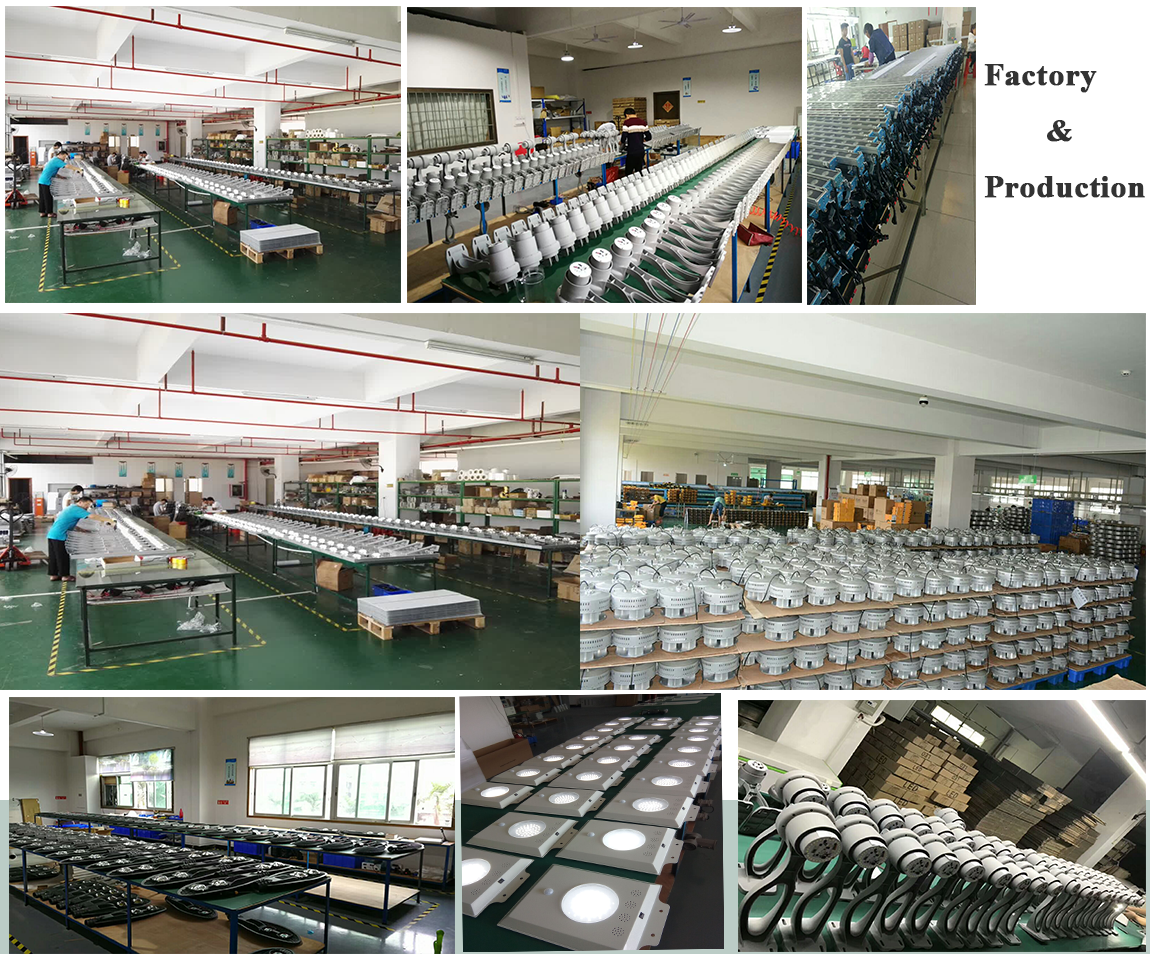 china solar street light factory