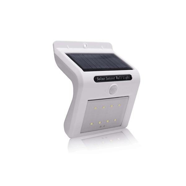dipimpin lampu dinding sensor surya