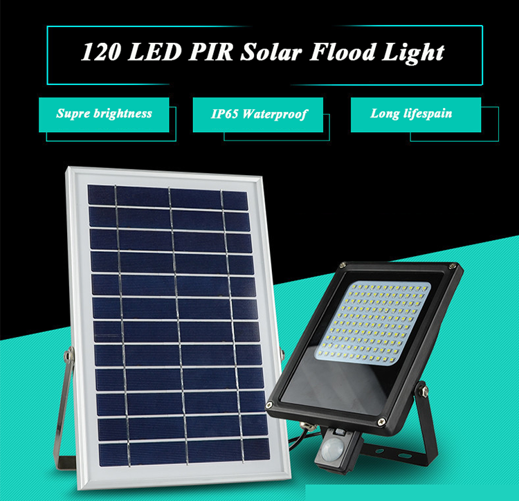 solar flood light led