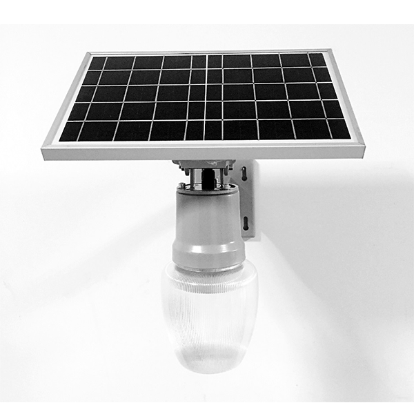 wall mounted solar garden light