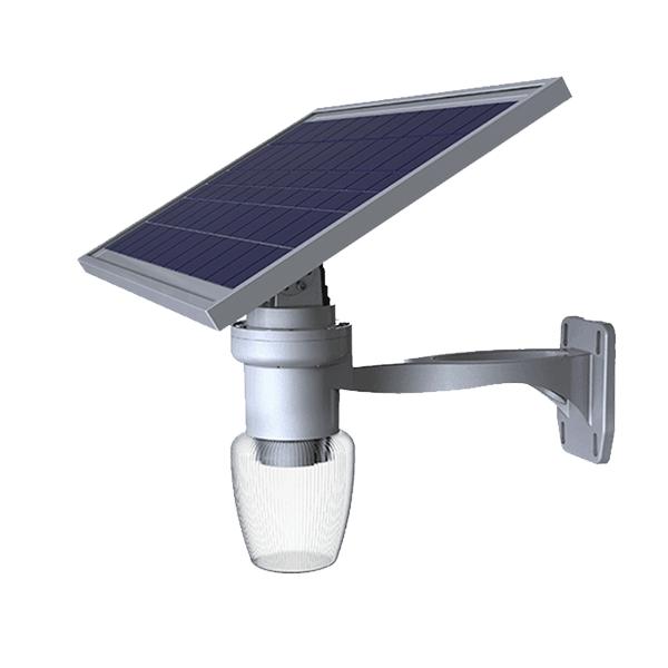 6w Lampe solaire de sécurité murale avec détecteur de mouvement ...