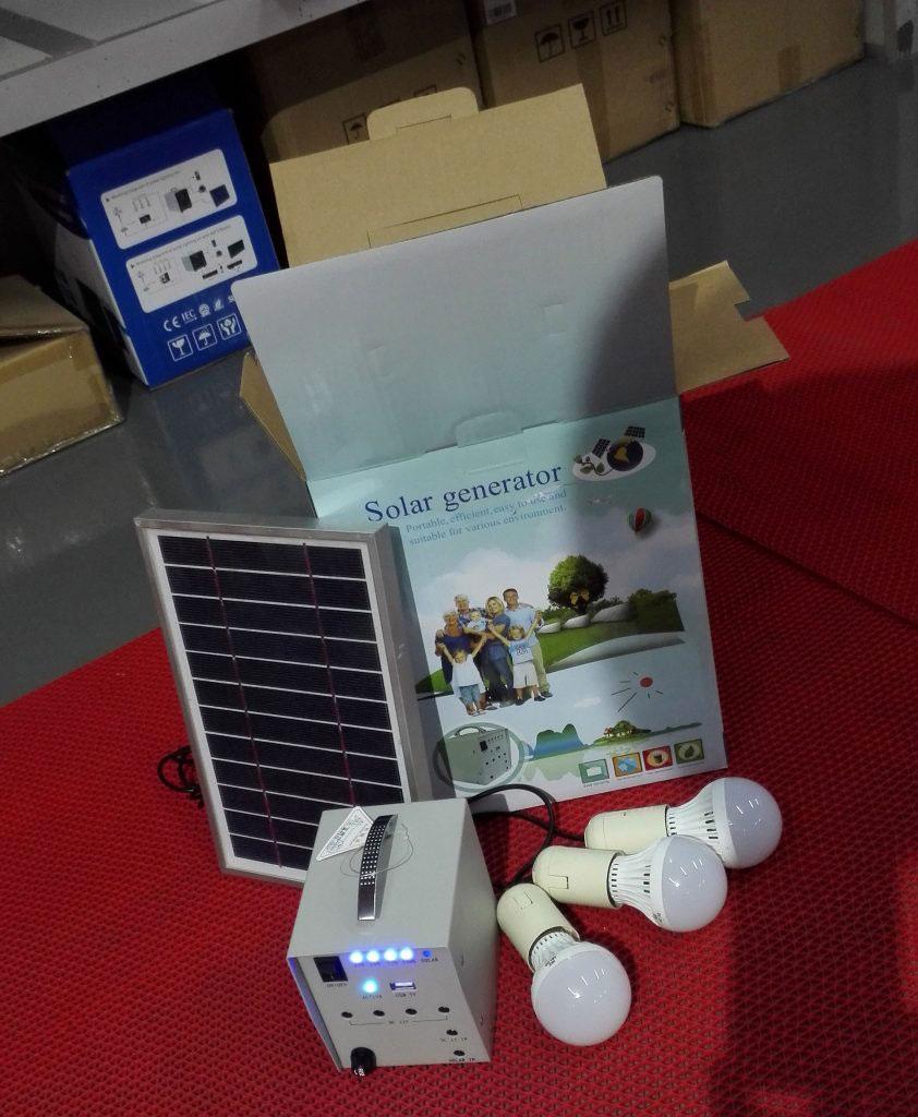 نظام الطاقة الشمسية المنزلية
