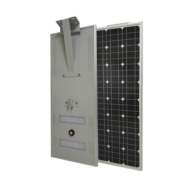 tout en un lampadaire solaire à LED
