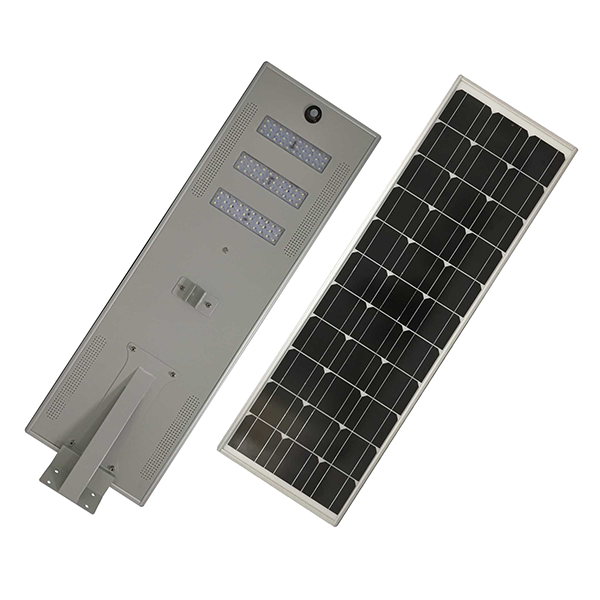 90w Grid-off high power high lumen all in one solar led light ขาย