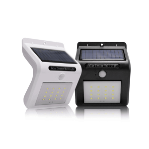 solar led garden wall light