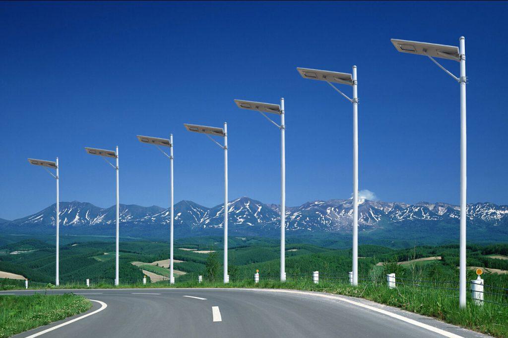 Tout en un fabricant de lampadaire solaire à LED, fournisseur en Chine